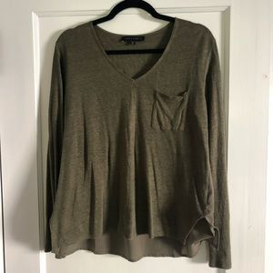 Sanctuary top in olive